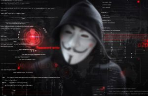 cyber threats man in mask