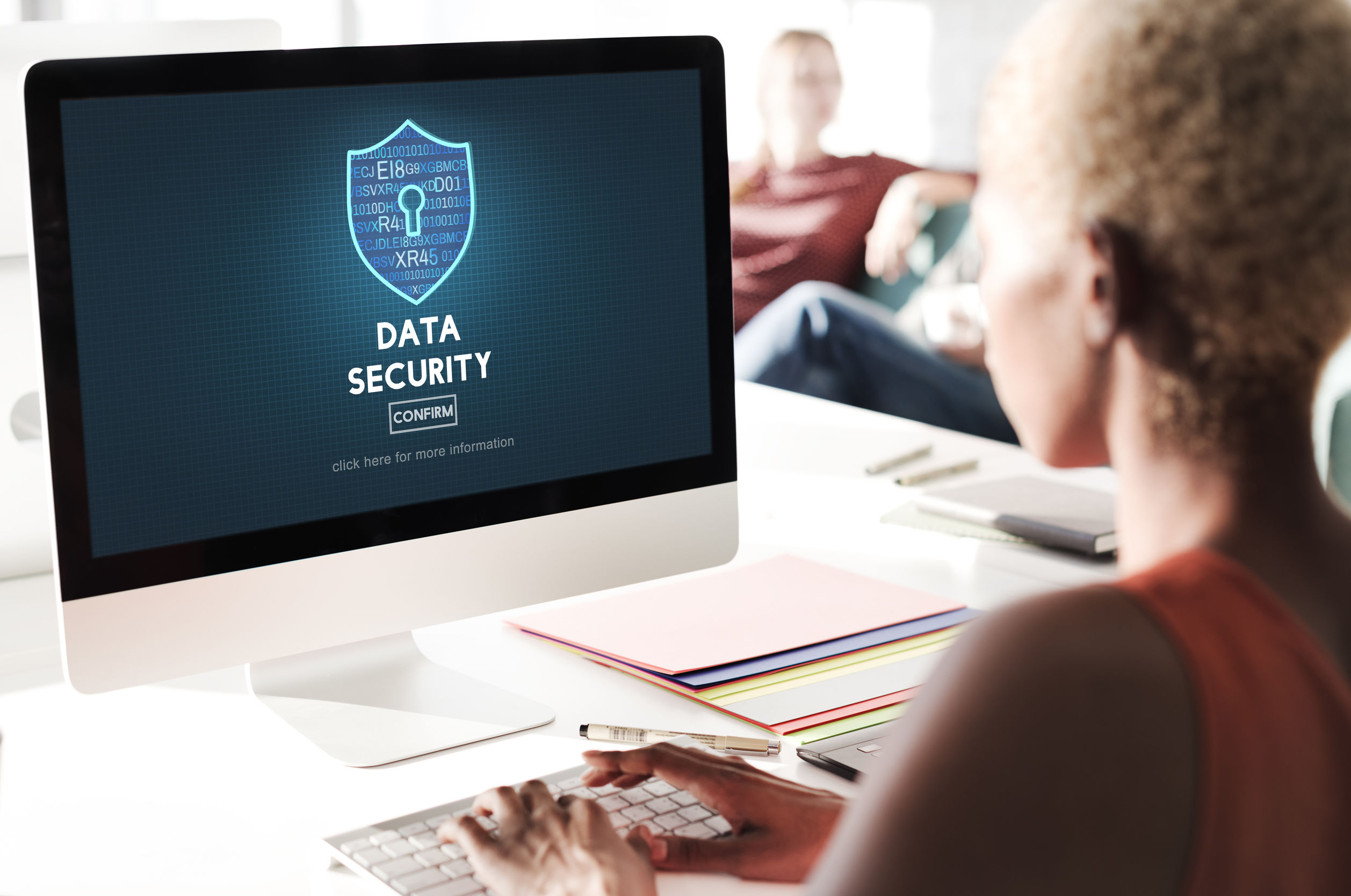 Data Security Privacy Online Security Protection Concept